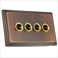 Antique Copper Finish Dolly Switch
