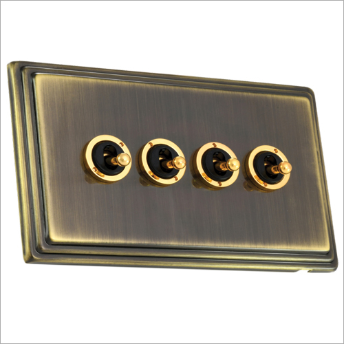 Antique Brass Finish Dolly Switch