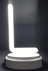 LETTER a  La   PLASTIC NEON LIGHT