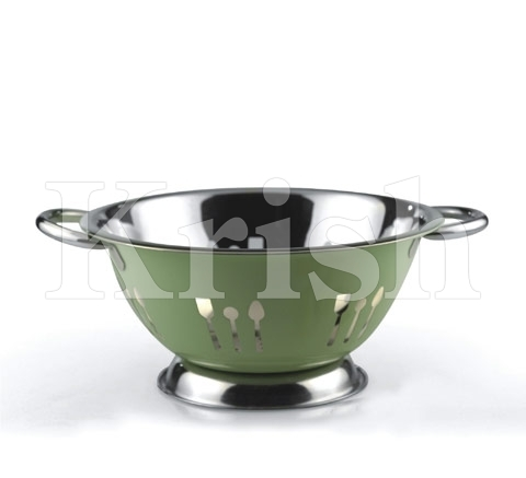 Colored Deep Colander - Cutlery Cutting