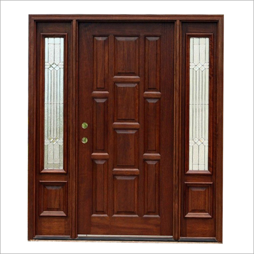 Rose Wooden Door