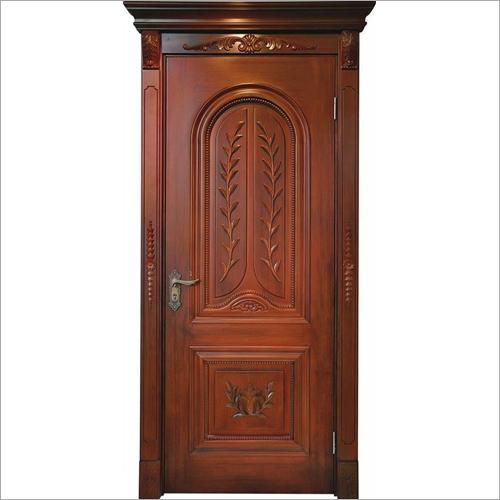 Wooden Round Panel Door