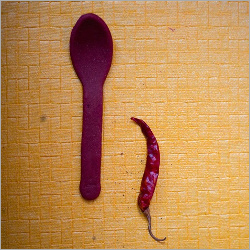 Edible Chilli Flavor Spoon