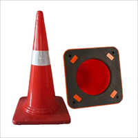 750 mm Traffic Safety Cone PVC Red And Black