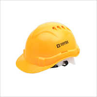 Heapro LD Safety Helmet Yellow Pin Lock