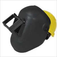 Welding Screen With Safety Helmet