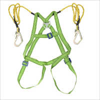 Safety Wagon Full Body Safety Belt Double Lane-Yard Scaffold Hook