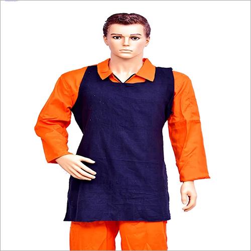 Safety Cotton Blue Apron