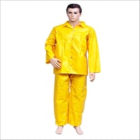 PVC Chemical Yellow Suit