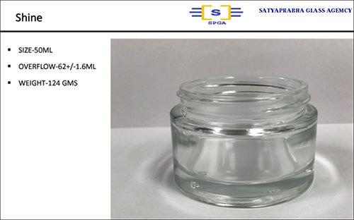 50ML Shine Glass Perfume Bottle