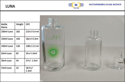 Luna Glass Perfume Bottle