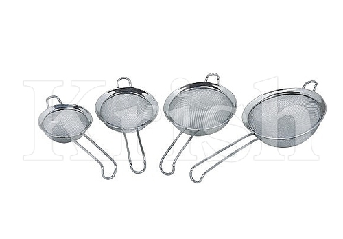 Straight Wire Handle Tea Strainer