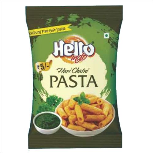 Green Chutney Flavoured Pasta Fryums