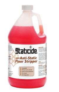 ACL -4010 Anti-Static floor cleaner/Staticide® Anti-Static Floor Stripper Biodegradable, Low-Foaming Formula