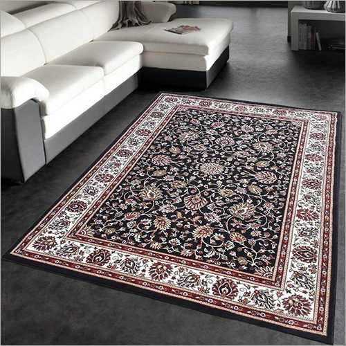 Floral Traditional Style Floor Carpet