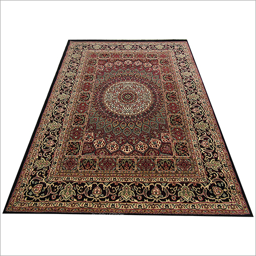 Silk Ivory Persian Style Traditional Floor Carpet