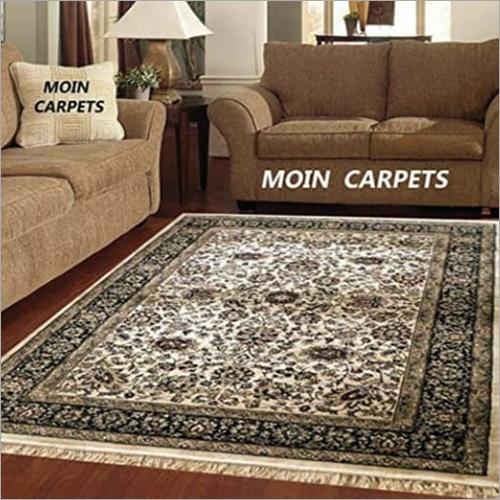 Kashmiri Silk Designer Grey Carpet