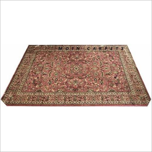 Kashmiri Silk Designer Pink Carpet