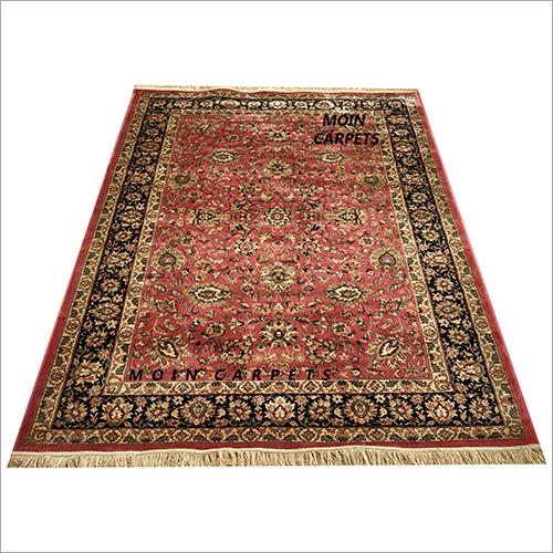 Kashan Silk on Silk Carpet