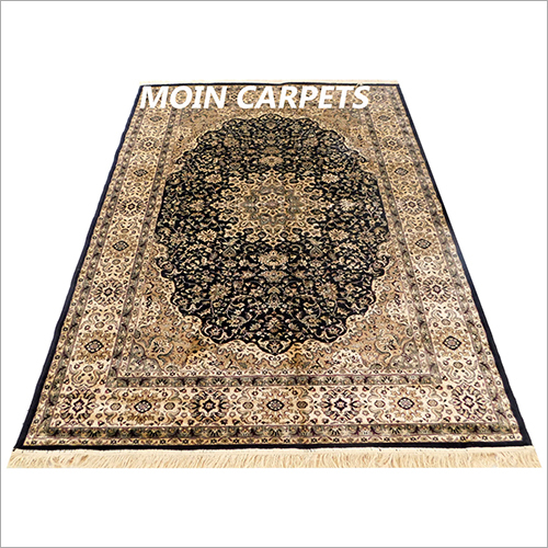 Kashmir Silk Floor Carpet