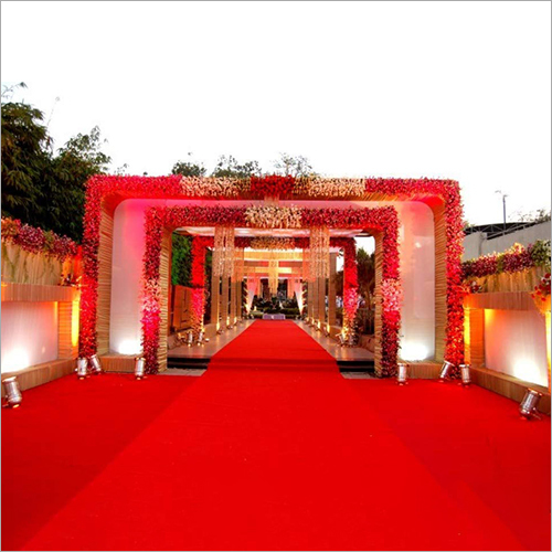 Wedding Decoration Red Carpet