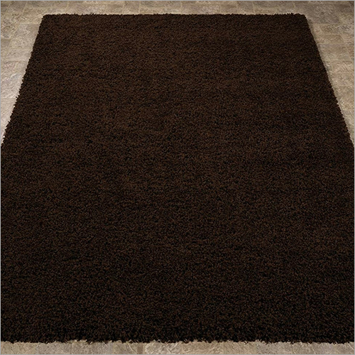 Plain Rustic Brown Carpet