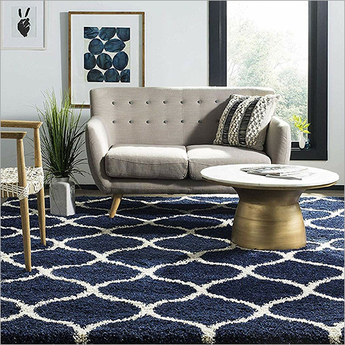 Geometric Design Acrylic Wool Soft Carpet