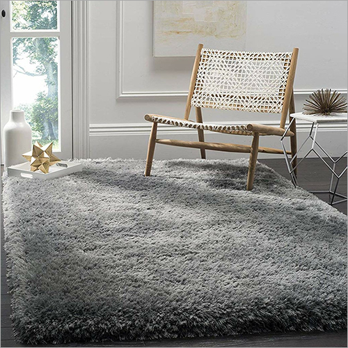 Solid Fur Living Room Carpet