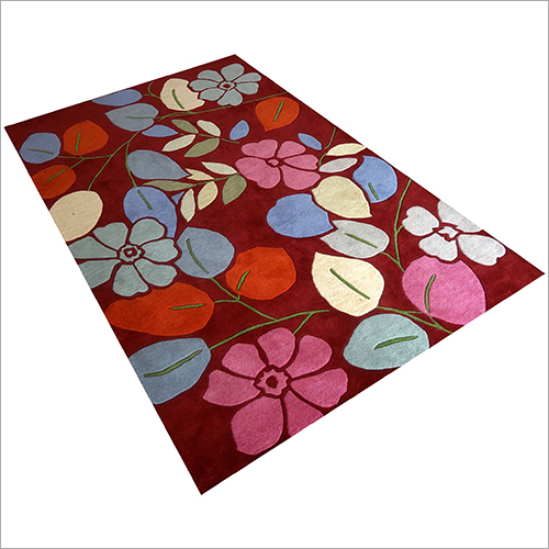 Floral Printed Red Carpet Roll