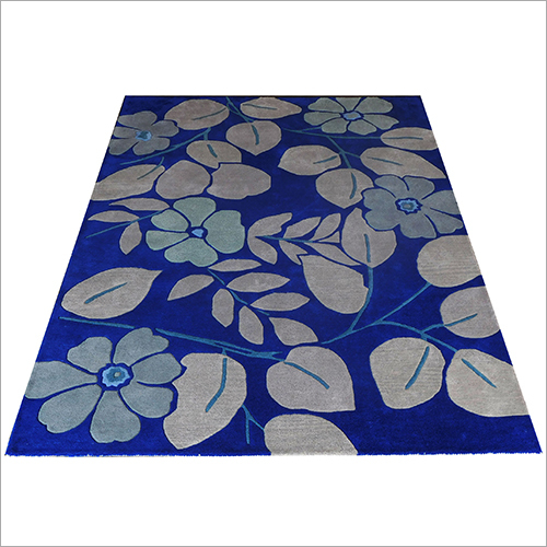 6x9 feet Traditional Floral Printed Carpet