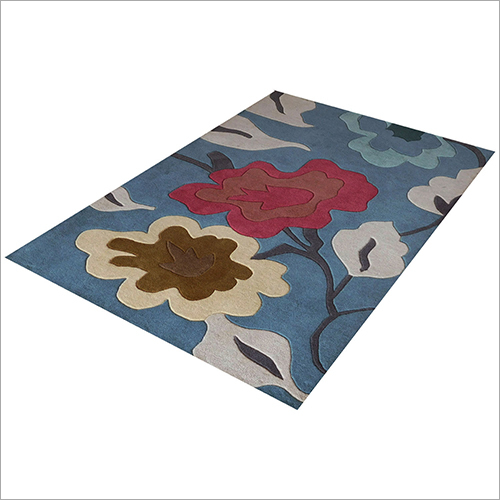 Custom Design Floral Printed Floor Carpet