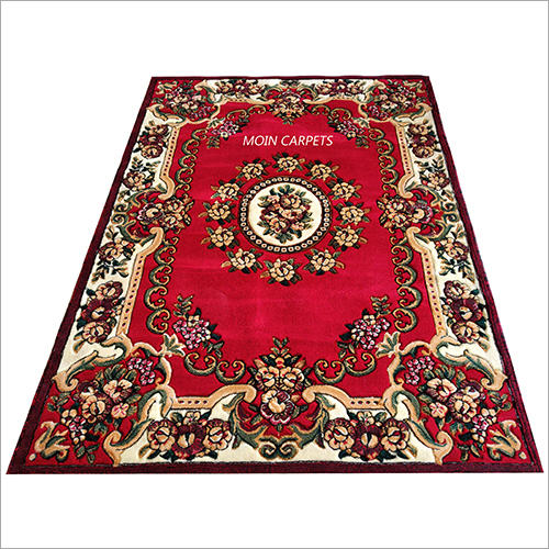 Traditional Floral Printed Floor Carpet