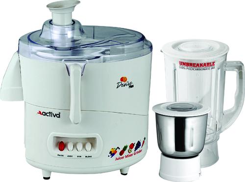 Activa Desire Plus Juicer Mixer Grinder 2 Jar