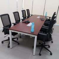 Meeting table with 50x50 legs