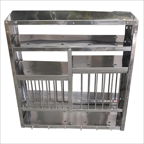 Wall Mounted Stainless Steel Dish Rack