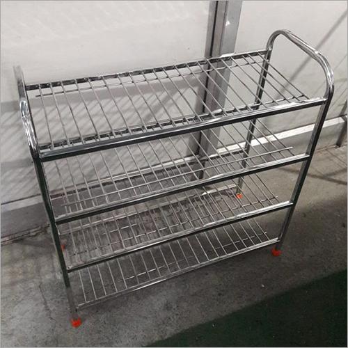 Multi Tier Stainless Steel Dish Rack
