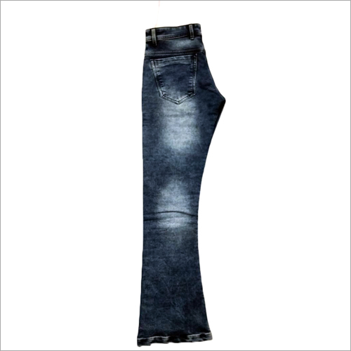 Mens Denim Bell Bottom Jeans