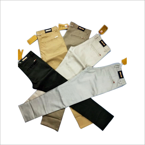 Mens Plain Cotton Trousers