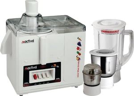 Activa Premium Juicer Mixer Grinder 3 Jar