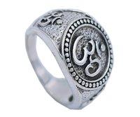 Om Designer 925 Silver Ring