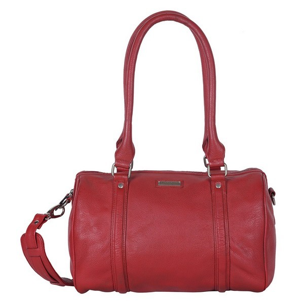 RED MINI DUFFLE BAG