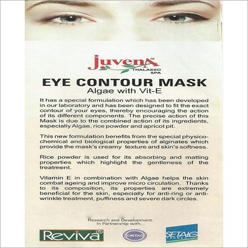 Eye Contour Algae with Vit-E Mask