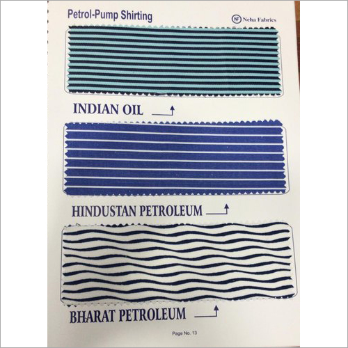 Petrol Pump Cotton Uniform Fabric