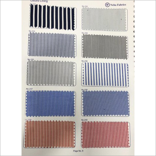 School Uniform Stripes Fabric