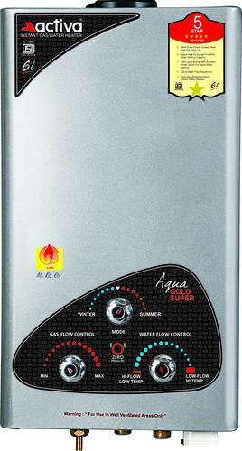 activa Aqua Gold LPG Instant Water Heater Geyser (7Ltr.)