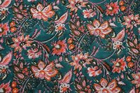 Hand Block Printed Dress Material Fabric