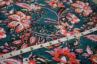 Hand Block Printed Dress Material Fabric