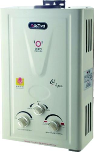 ACTIVA Aqua LPG Water Heater Geyser (6Ltr.)
