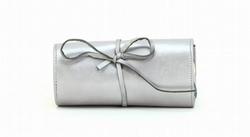 SILVER JEWELLERY ROLL BAG
