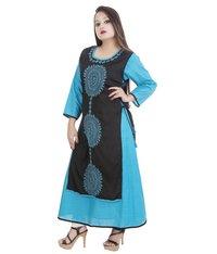 Designer Double Layered Lucknowi Chikan Kurti